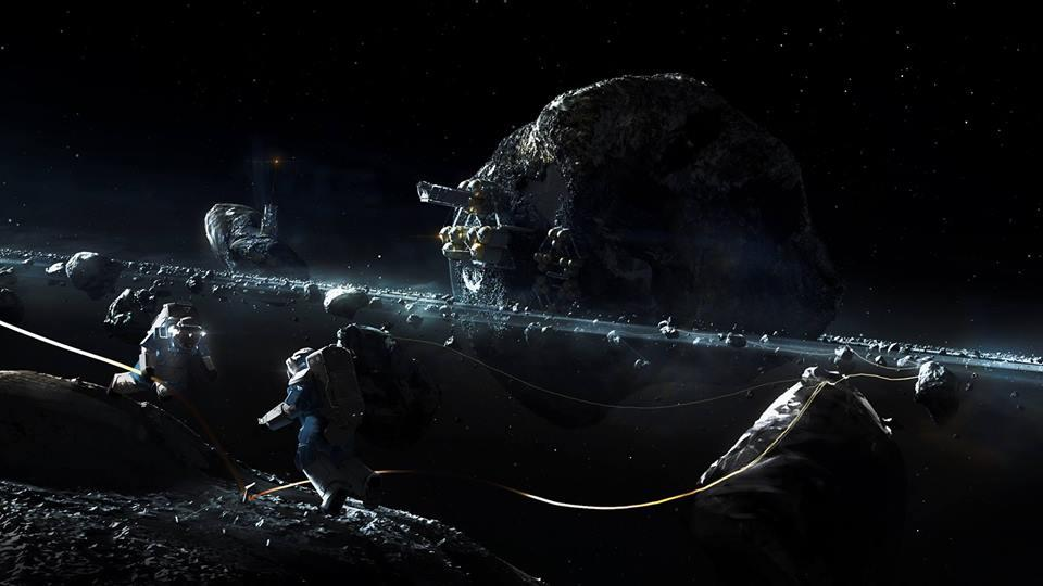 Asteroit Madenciliği, Uzay Madenciliği