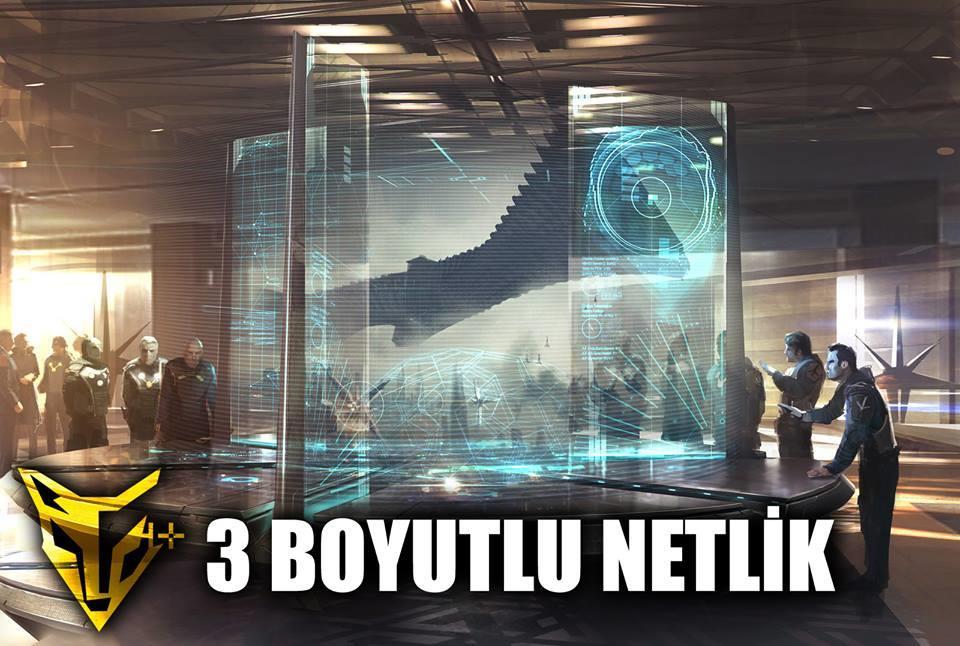 3 BOYUTLUK NETLİK