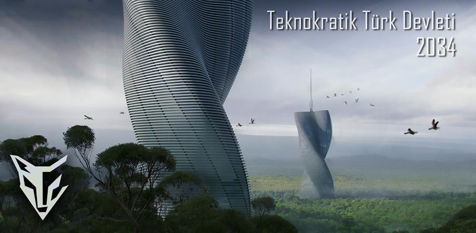 TEKNOKRATİK TÜRK DEVLETİ - 2034