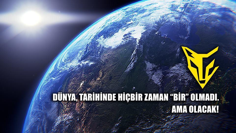 """Dünya,tarihinde hiçbir zaman """"bir"""" olmadı AMA OLACAK!"""