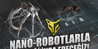 NANO-ROBOTLARLA GELECEĞİ İNŞA EDECEĞİZ!